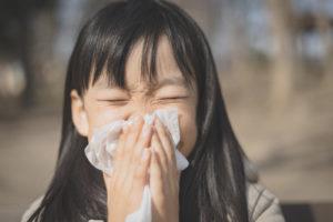 子供,花粉症,症状,対策