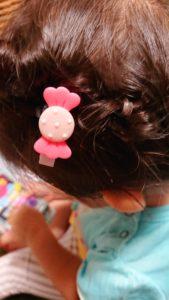 細い髪の毛,1歳,2歳,子供,簡単,ヘアアレンジ,浴衣にも似合う,髪型