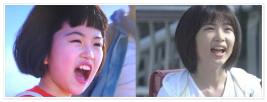 朝ドラ,スカーレット,子役,川島夕空,似ている,志田未来,戸田恵梨香,画像比較