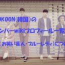 KOKOON(韓国)のメンバーwikiプロフィール一覧!田中凌(お笑い芸人・ブルーレディ)についても!
